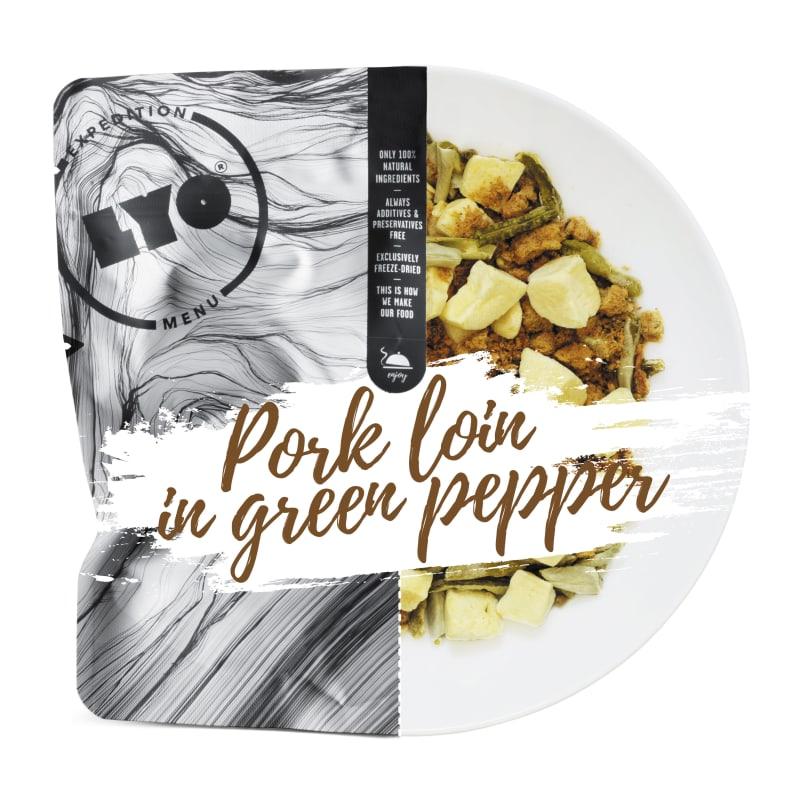 Pork Loin In Green Pepper Sauce Small Pack 370g