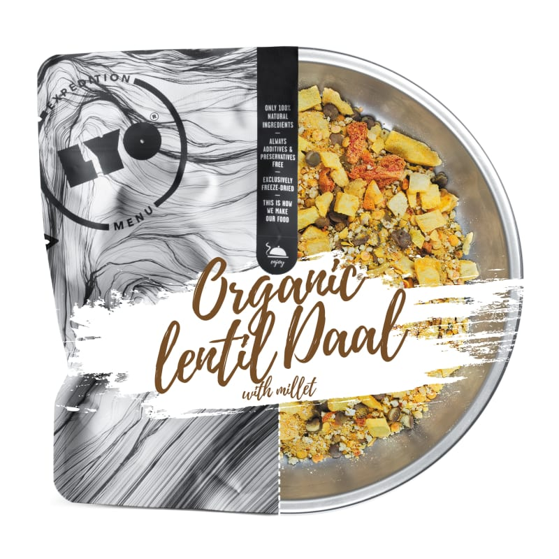 Organic Lentil Daal With Millet 370g