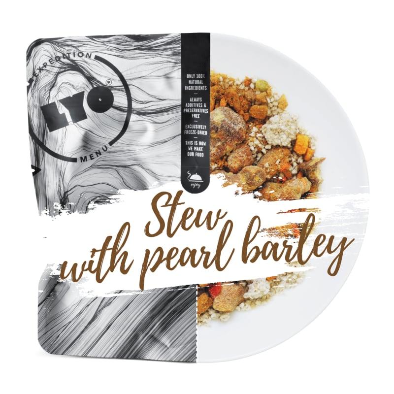 Pork Stew With Pearl Barley 500g
