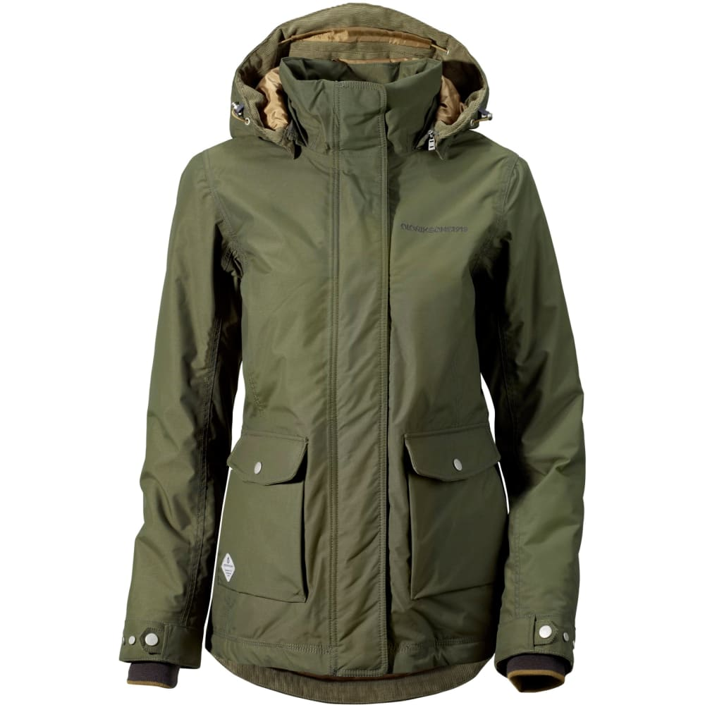 SALE!! Breathable Waterproof Didricksons Womens Shelter Parka Windproof