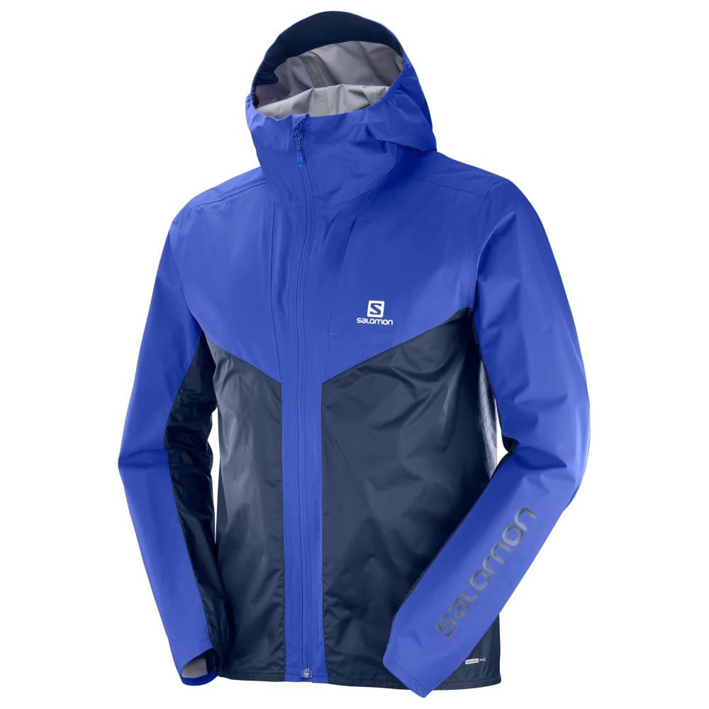 Salomon Outspeed Hybrid Jacket Men/'s Rain Windbreaker Functional New