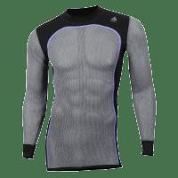 Aclima Hiking Crew Neck Shirt Men Jet Black//Poinciana//Olive Night 2019 Unterw/äsche