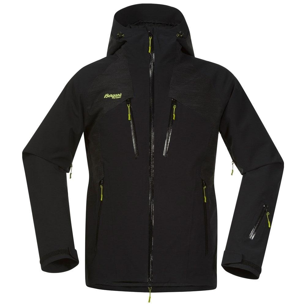 Bergans Oppdal Insulated Jacket, skijakke dame Svart Ski