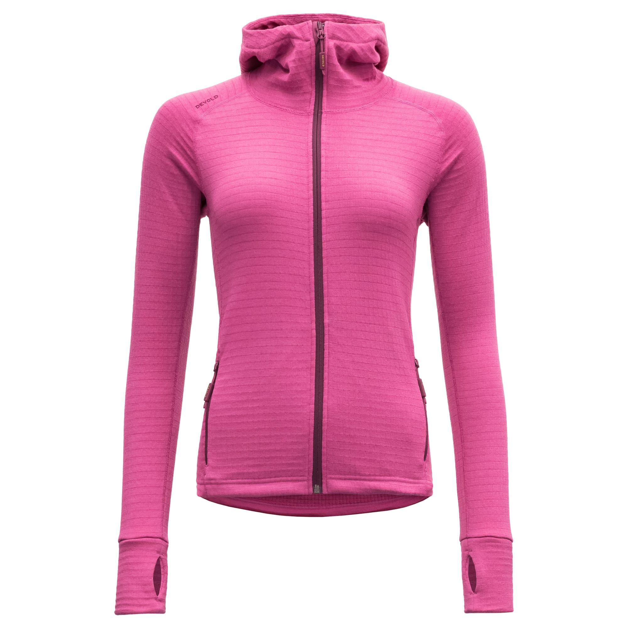 Kjøp Devold Egga Woman Jacket With Hood fra Outnorth