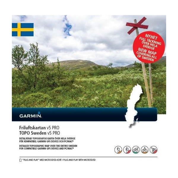 Buy Garmin Friluftskartan Pro V5 From Outnorth