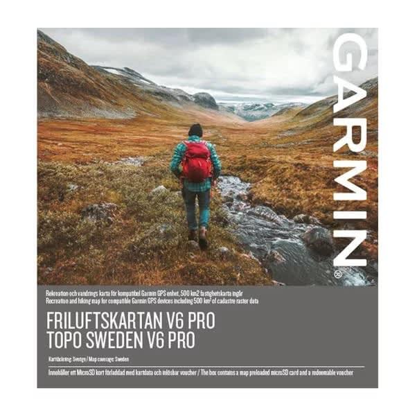 Buy Garmin Topo Sweden V6 Pro From Outnorth