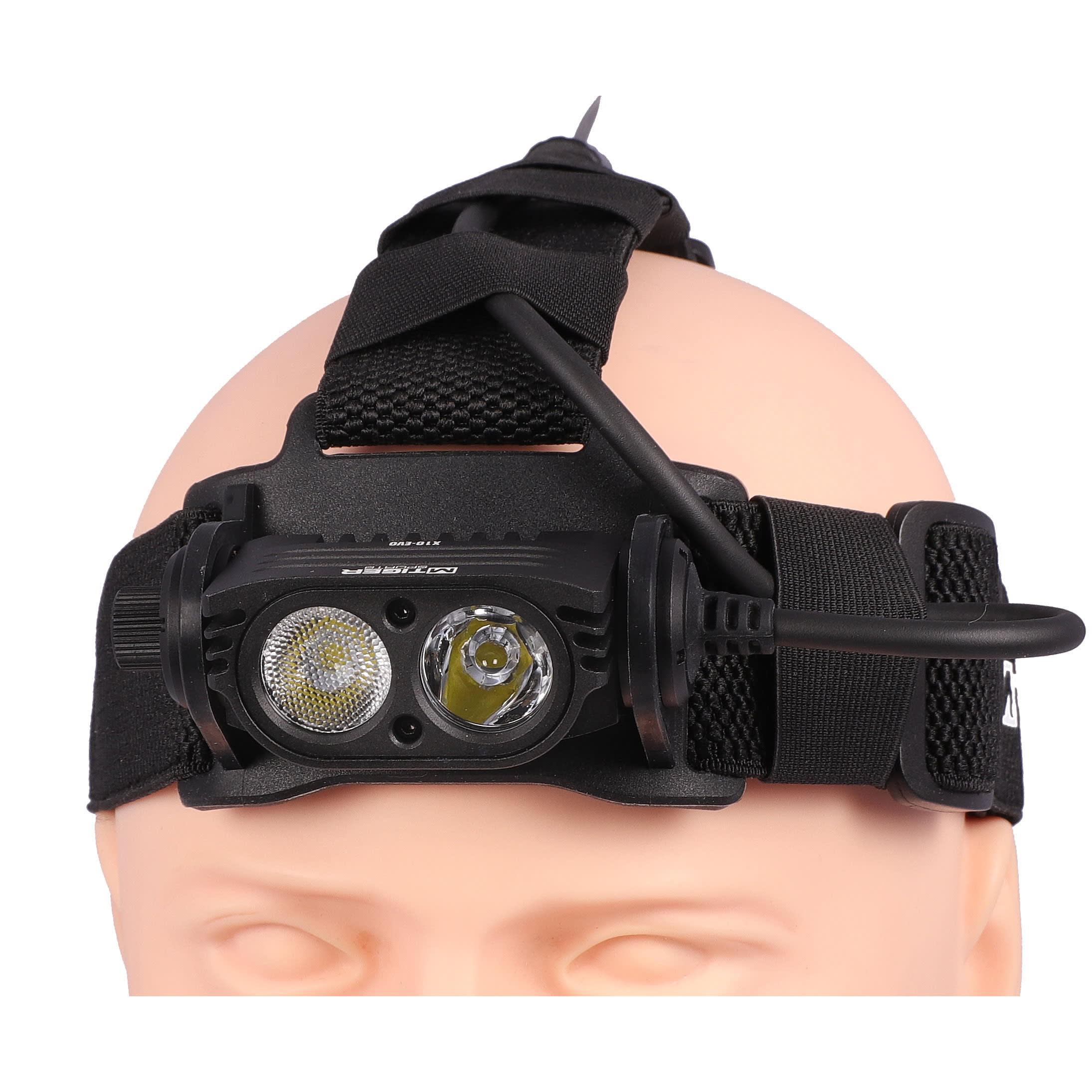 M-tigersports X10-EVO 1000 lm Head Light